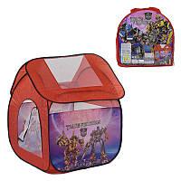 Детская игровая палатка - домик Трансформеры