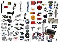 Комплектующие и запчасти к прицепам ,светотехника, аксессуары