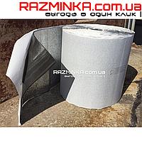 Самоклеющийся вспененный каучук 6мм ламинированный металлизированной пленкой