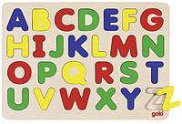 Goki Пазл-вкладиш - Англійський алфавіт