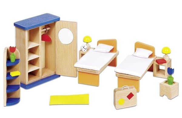 Goki Набір для ляльок - Меблі для спальні
