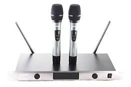 Радиосистема Shure SH UGX8 II база 2 микрофона Серый 009629, КОД: 1766053
