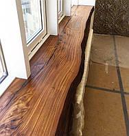 Подоконник из  массива дерева или слэба