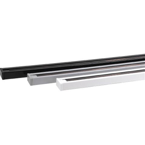 Рейка для трекового світильника 1м (біла, сіра, чорна)