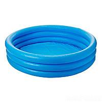 Детский надувной бассейн Intex 58426 «Синий кристалл», 147 х 33 см, (Оригинал)