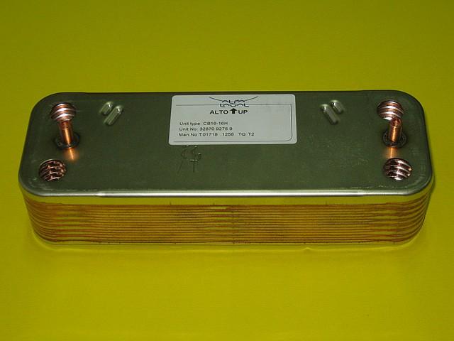 Теплообменник вторичный 30 кВт 998483 Ariston Microgenus