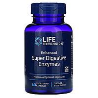 """Улучшенные пищеварительные ферменты Life Extension """"Enhanced Super Digestive Enzymes"""" 140 мг (60 капсул)"""