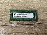 Оперативная память для ноутбука Micron SO-DIMM DDR3 1Gb 1066 МГц (MT8JSF12864HZ-1G1D1), фото 1