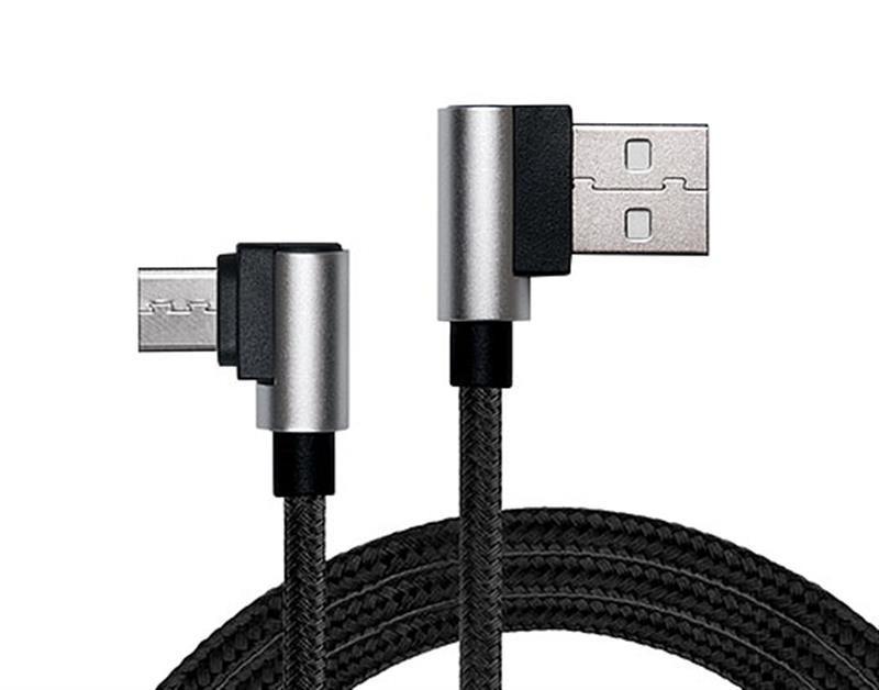Кабель REAL-EL Premium USB2.0 AM-Type C 1m, черній