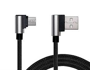Кабель REAL-EL Premium USB2.0 AM-Type C 1m, черній, фото 2