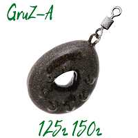 """Грузила для рыбалки """"Гриппа"""" 125, 150 грамм Груз карповый"""