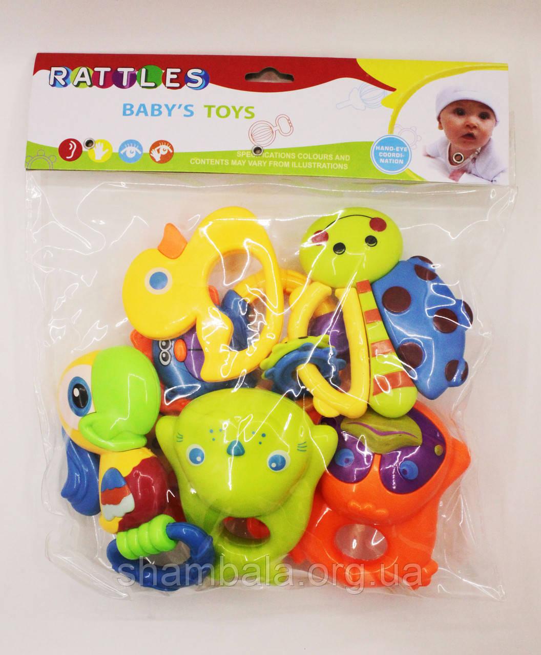 Набір брязкалець baby's Toys (080895)