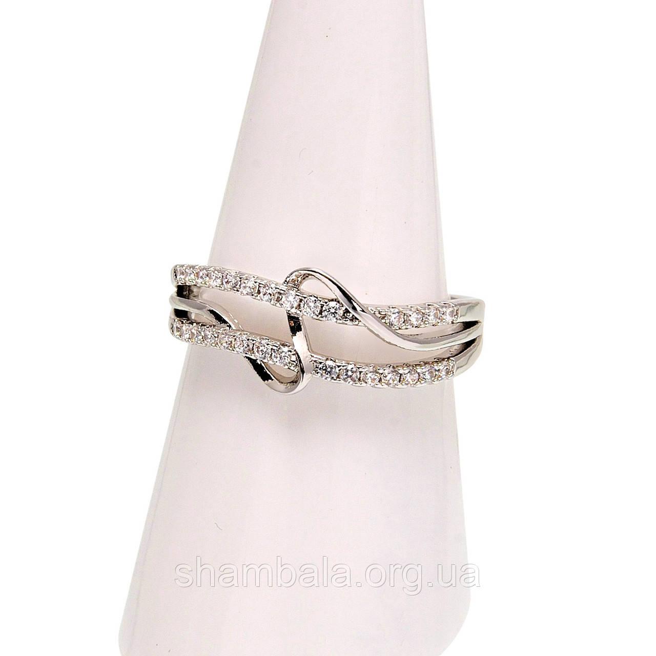 Кільце Silver ribbon розмір 8 (080499)