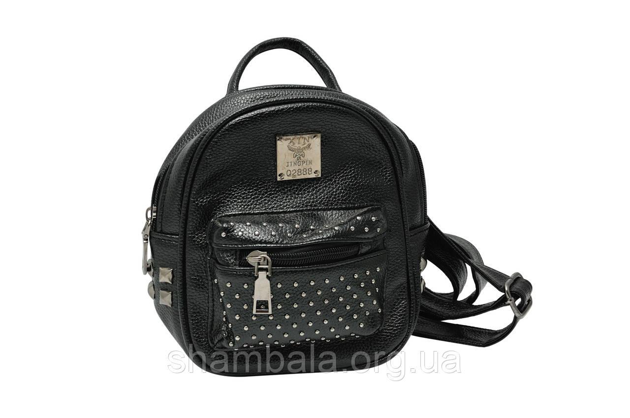 Рюкзак жіночий Jingpin 02888 зі шкірозамінника (046921)