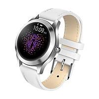 Умные смарт часы King Wear KW10 с защитой от воды Белый 729, КОД: 1666695