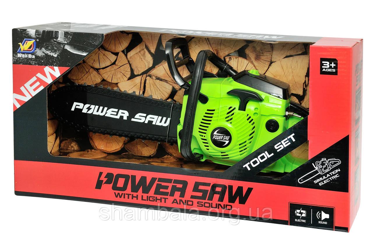 "Бензопила Wei Da ""Power saw"" со звуком (078014)"
