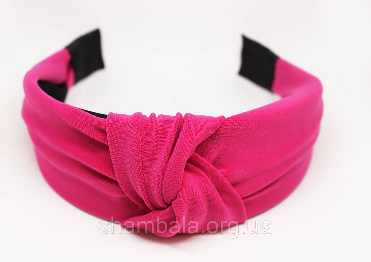 """Обруч-чалма для волосся """"Pink cloud"""" (074849)"""