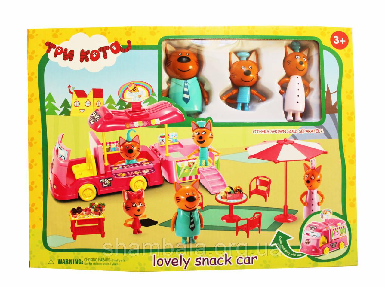 "Ігровий набір A-Toys ""Три кота - lovely snack car"" (080925)"