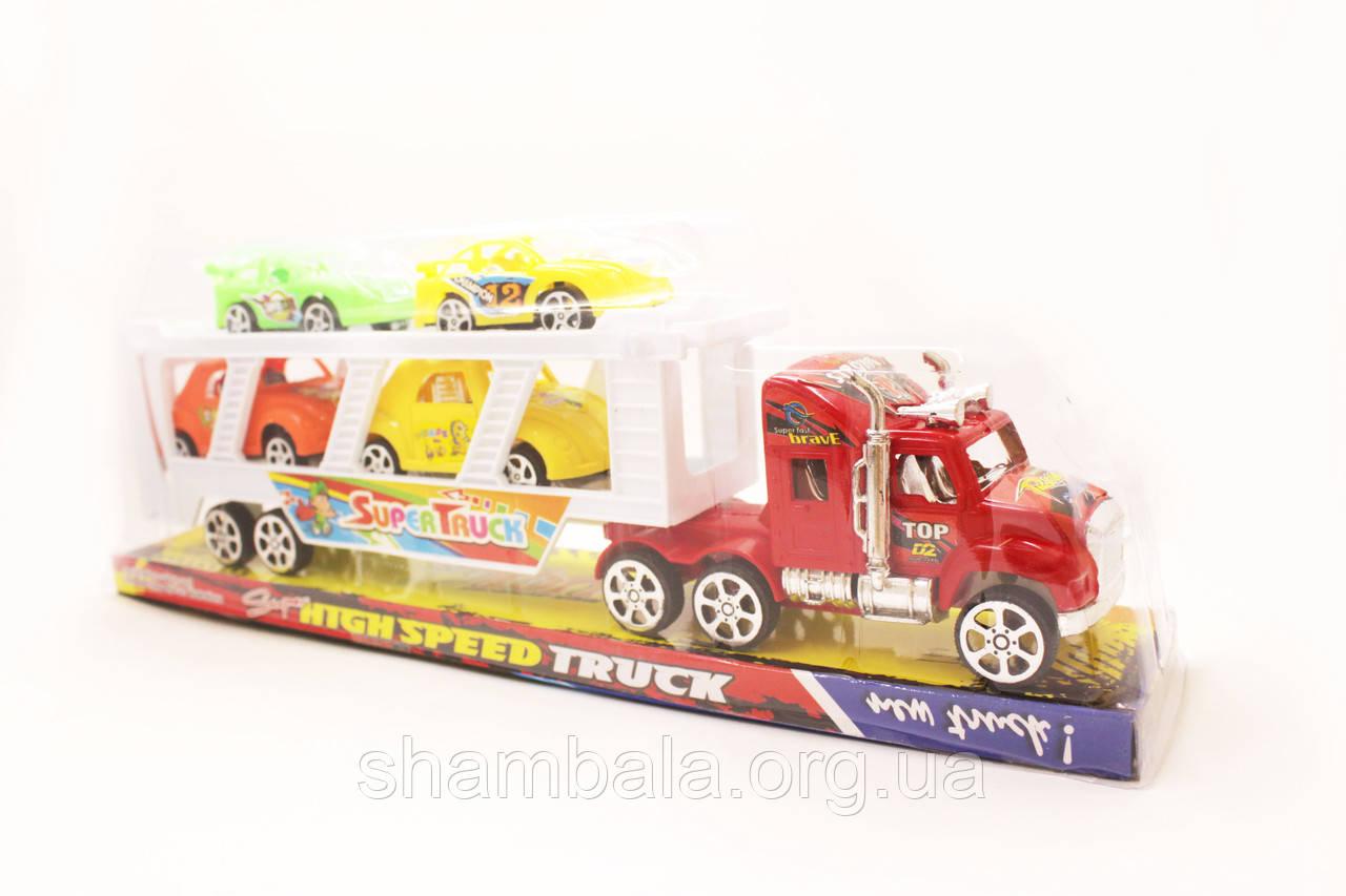 Набор машинок HTGH Speed Truck 3+ (081786)