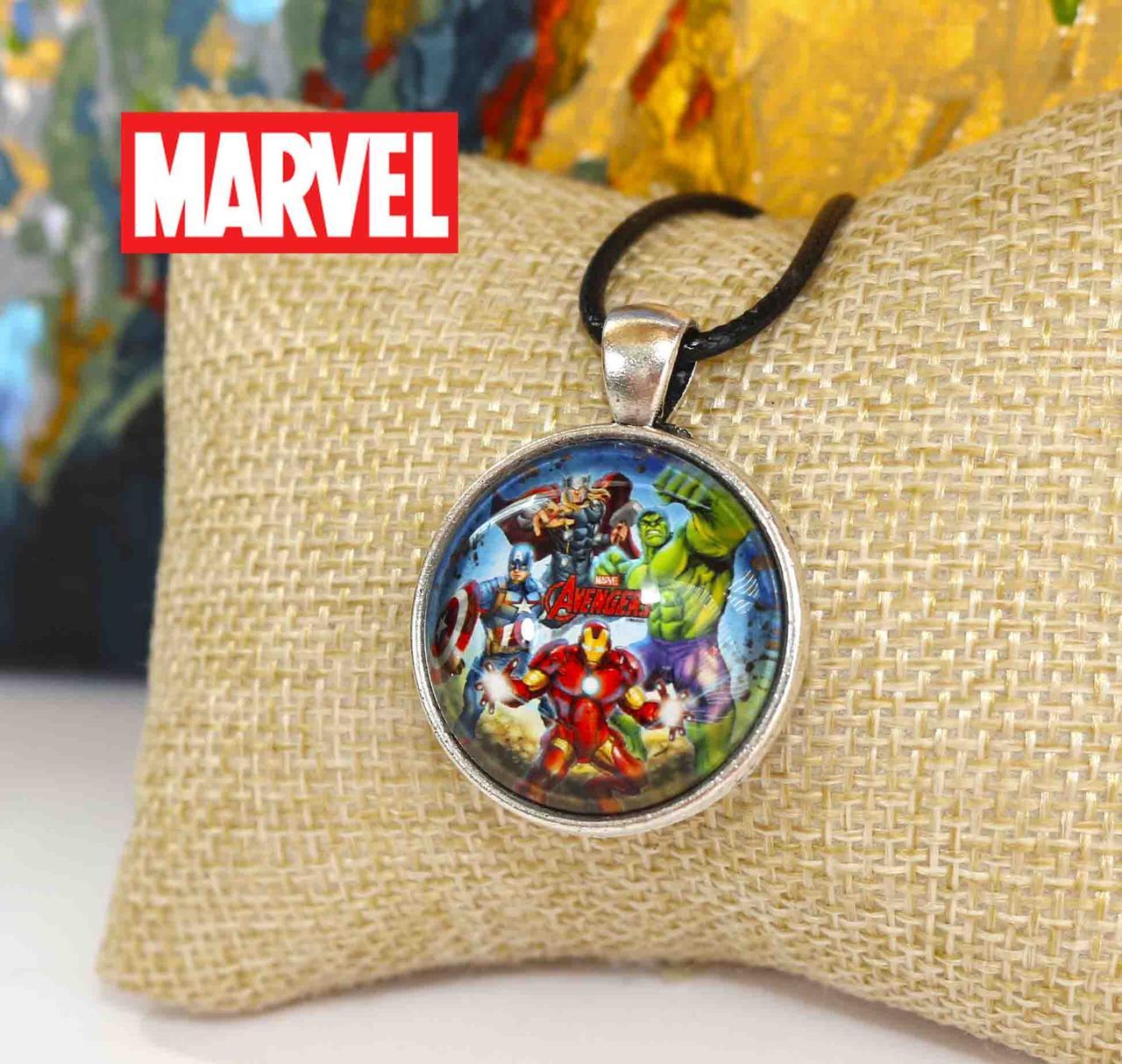 Кулон с изображением персонажей Avengers Мстители