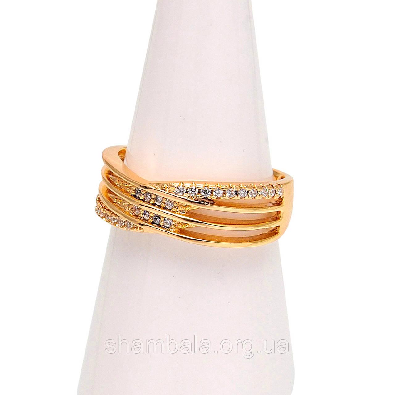 Перстень Strewn with pebbles размер 7 (080475)