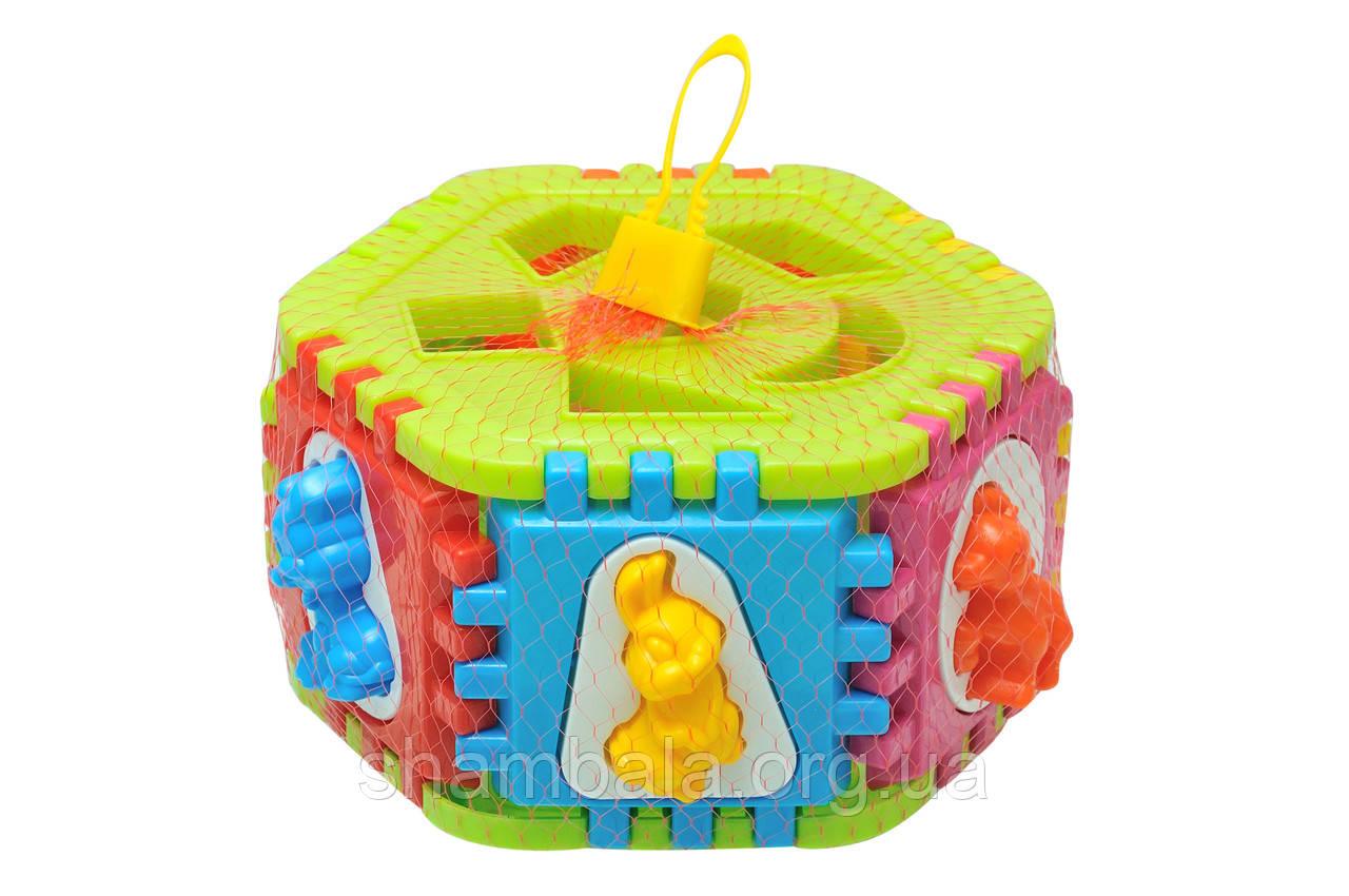 Игрушка куб Интелком Умный малыш (080383)