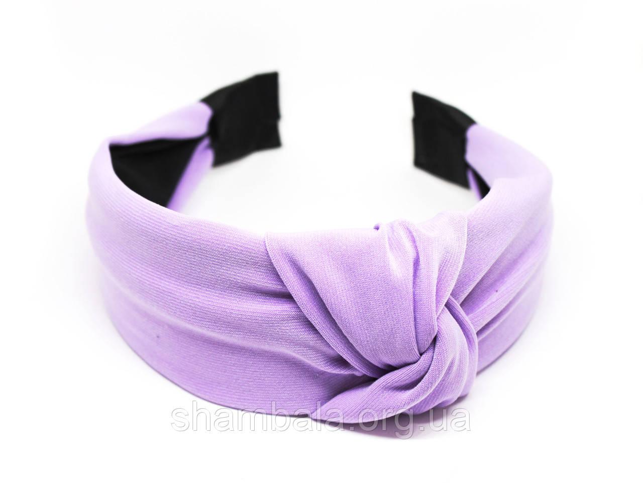 """Обруч-чалма для волос """"Purple turban"""" (074849)"""