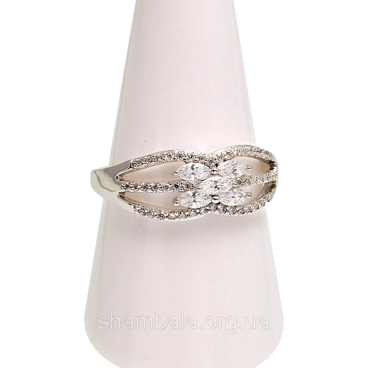 Кольцо Xuping Stone Flower размер 9 (074900)