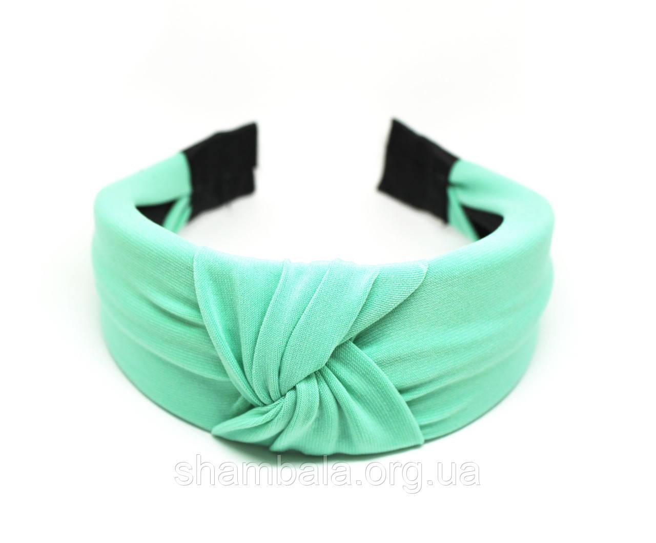 """Обруч-чалма для волос """"Turquoise"""" (074849)"""