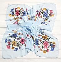 Легкий платок Angel София 95*95 см светло-голубой