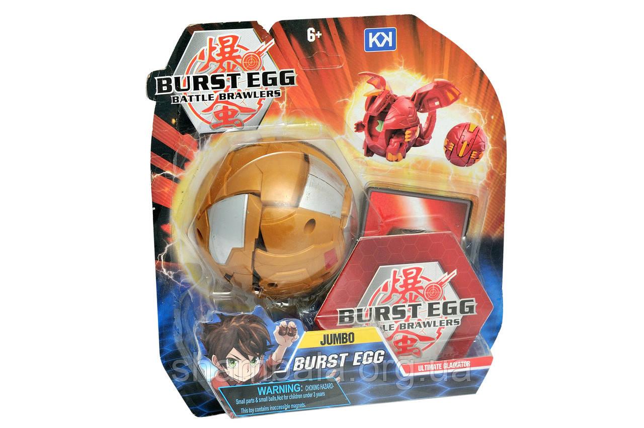 """Игровая фигурка """"Burst Egg Battle Brawlers"""" оранжевый (069746)"""
