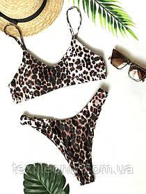 Купальник леопардовый