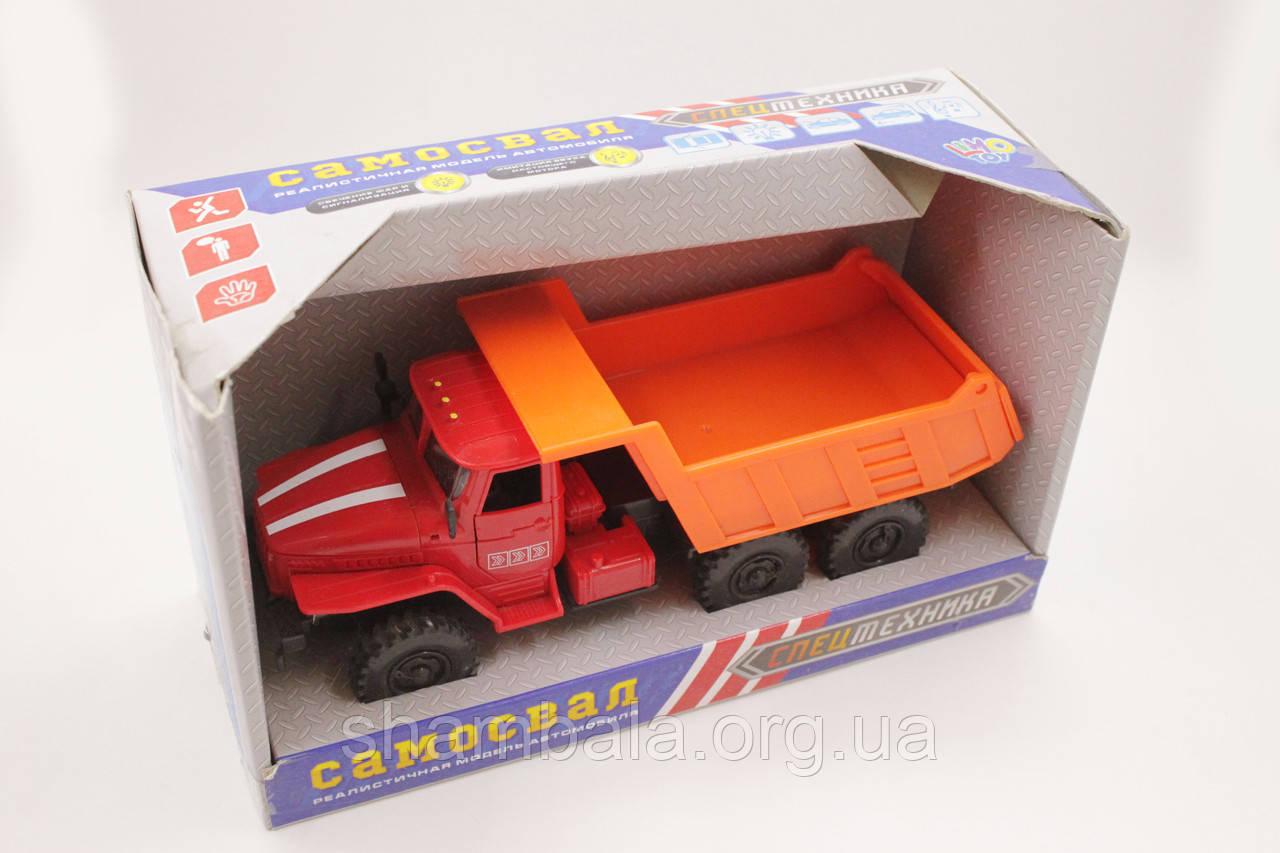 Самосвал Limo Toy спецтехника (080956)