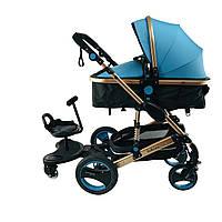 Универсальная подножка для второго ребенка для детской коляски.yoya.йойа