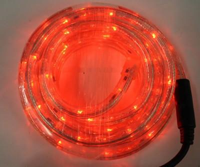 Светодиодный дюралайт 10м с контроллером. Красный