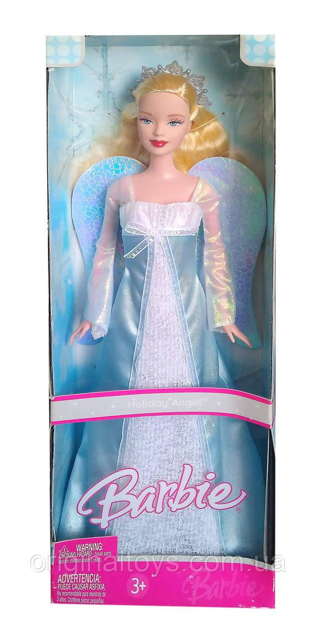 Коллекционная кукла Барби Праздничный ангел Barbie Holiday Angel 2006 Mattel J0590