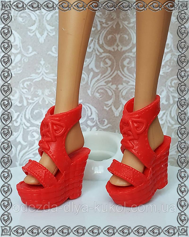 Обувь для кукол Барби (босоножки)
