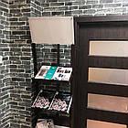 Самоклеющиеся обои Декоративная 3D панель ПВХ 1 шт, серый  екатеринославский кирпич, фото 3