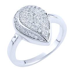 Серебряное кольцо GiftOne с фианитами (0119205) 17 размер