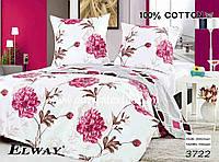 Комплект постельного белья полуторный  Elway 3722 cатин