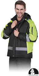 Куртка робоча зимова чоловіча LEBER&HOLLMAN LH-BLIZZARD BY