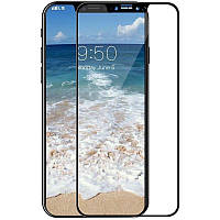 Защитное стекло TOTO 3D Full Cover Tempered Glass для iPhone X Black 56269, КОД: 1172481
