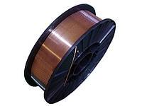 Сварочная проволока марки ER70S-6 (аналог СВ08Г2С), диаметр 1,0 катушка 15 кг