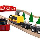 Деревянная железная дорога Juniori 46 элементов, фото 5