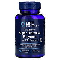 "Ферменты и пробиотики Life Extension ""Enhanced Super Digestive Enzymes and Probiotics"" (60 капсул)"