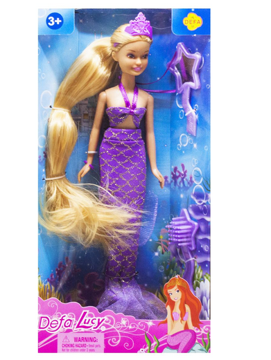 Кукла Русалочка с аксессуарами.Игровой набор для девочек.Детская игрушка кукла Русалочка.