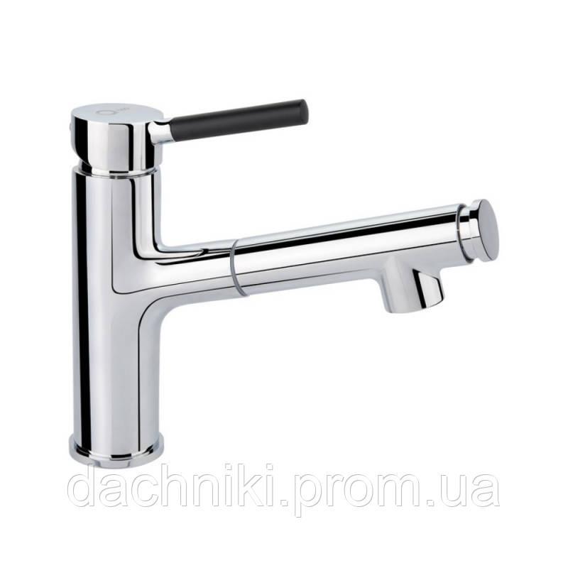 Смеситель для раковины с выдвижным изливом Q-tap Inspai CRM 011F