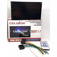 """Двухдиновый мультимедийный центр с 7"""" TFT сенсорным дисплеем Celsior CSW-7008IU SLIM"""