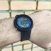 Мужские наручные часы черные Skmei спортивные электронные. Годинник чоловічий