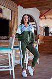 Спортивный костюм женский Турецкая двунитка Размер 48-50 52-54 Разные цвета, фото 3